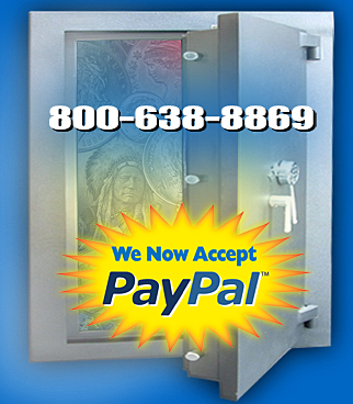 Step into our vault and browse our coin and currency collection. We accept Paypal.