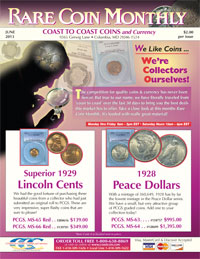 Request Coast Coin Monthly Coin Magazine for Coin Collectors