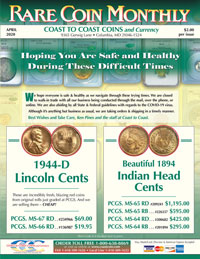 Coast to Coast Coins Catalog