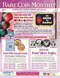 Coast to Coast Coins Catalog