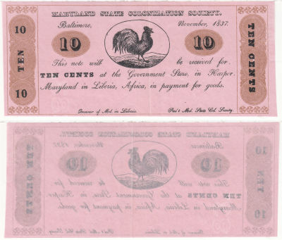 1837. 10c. CAU. MD.