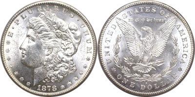 1878-S. Select BU.