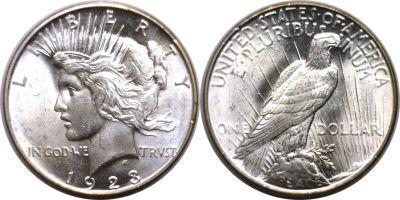 1923-D. Select BU.