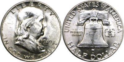 1949-D. Select BU.