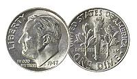 1947-D. Select BU.