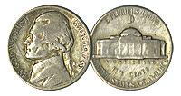 1943-D. VG.