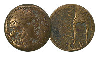 After 189 BC. Caria, Alabanda. Bronze. FINE. Apoll