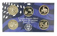 2004-S. GPF. 5-Quarter Set.