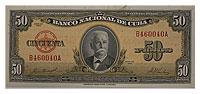 1958. Cuba. 50 Peso. CCU. P-81b.