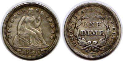 1855. VF.