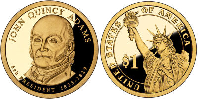 2008-S. GPF. John Quincy Adams.