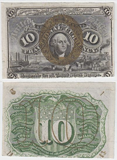 10c. 2nd Issue. CCU. F-1249.