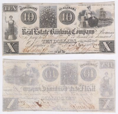 1839. $10. XF. MS.