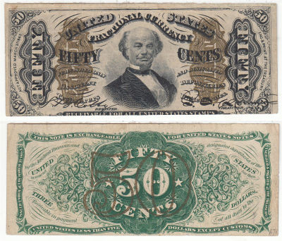 50c. 3rd Issue. VF. F-1342.