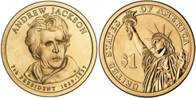 2008-D. Select BU. Andrew Jackson.