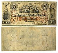 1861. $5. VF. T-31.
