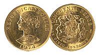 1968-74. Chile. 50 Pesos. CBU.