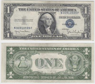 1935-D. $1. CCU. Silver Certificate. | U.S. Small Size Notes | Coast ...