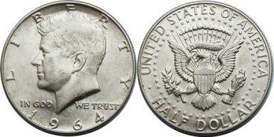 1964-D. Select BU.