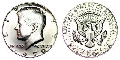 1970-D. Select BU.