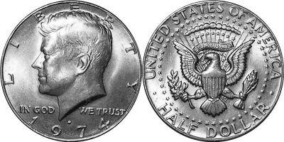 1974-D. Select BU.