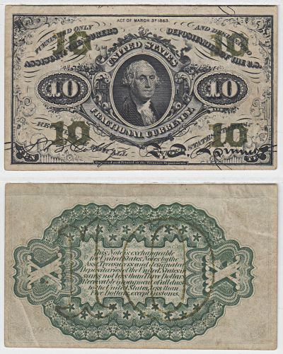 10c. 3rd Issue. VF. F-1255.