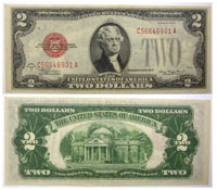 1928-D. $2. VF. Legal Tender Note.