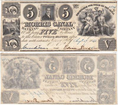 1841. $5. CCU. NJ.
