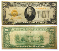 1928*. $20. VG+. Gold Certificate.
