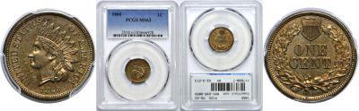 1860. PCGS. MS-63.