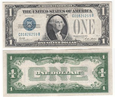 1928-A. $1. CAU. Silver Certificate.