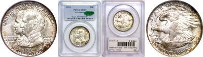 1921. PCGS. MS-65. Alabama.