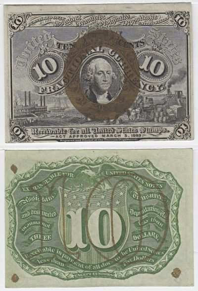 10c. 2nd Issue. CU. F-1246.