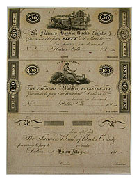 1810's. $50,. CCU. PA.