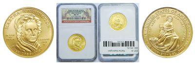 2007-W. NGC. MS-70. Martha Washington $10.