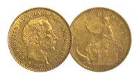 1900. Denmark. 10 Kroner. AU.