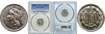 1870. PCGS. MS-64.