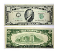 1950-A*. $10. VF. Federal Reserve Note.