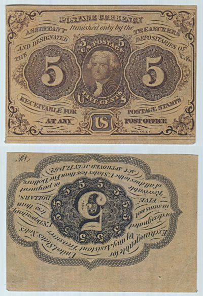 5c. 1st Issue. AU. F-1230.