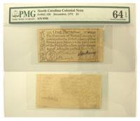 12/1771. NC. One Pound. PMG. Ch Unc-64. EPQ.