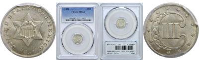1851. PCGS. MS-63.