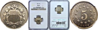 1872. NGC. PF-66.