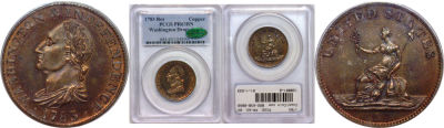 1783. Washington. PCGS. PR-63. BN.