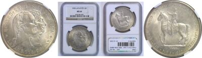 1900. NGC. MS-64. Lafayette Dollar.