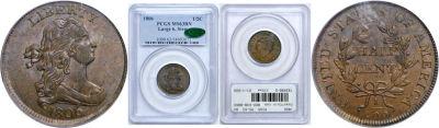 1806. PCGS. MS-63. BN.