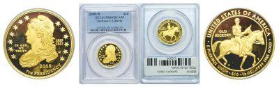 2008-W. PCGS. PR-69. DCAM. Jackson's Liberty $10.