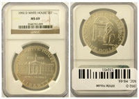 1992-D. NGC. MS-69. White House.