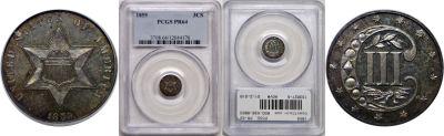 1859. PCGS. PR-64.