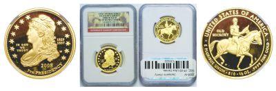 2008-W. NGC. PF-69. UCAM. Jackson's Liberty $10.