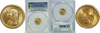 1903. PCGS. MS-65. La. Purchase - Jefferson $1.